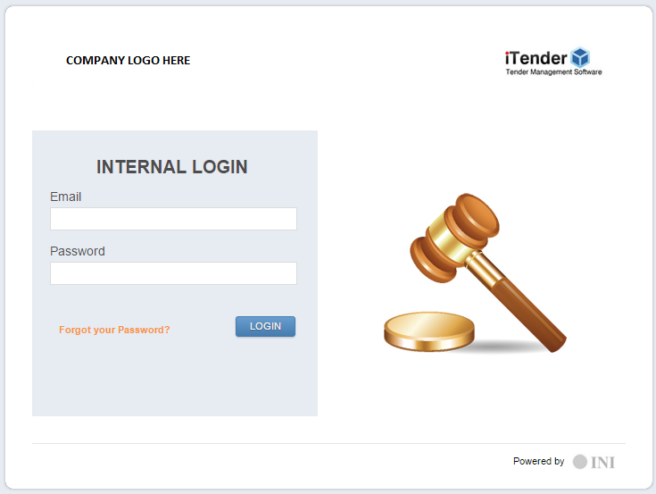 iTender - Tender Management System